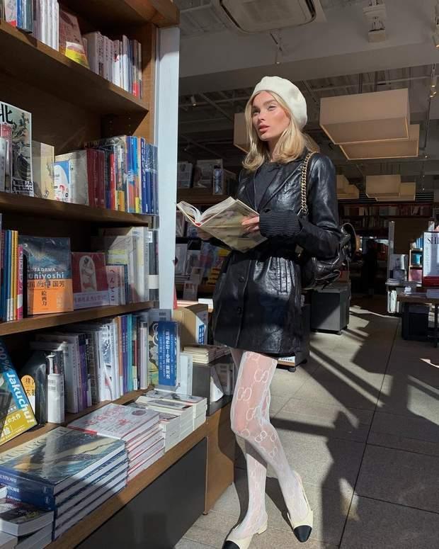 Берет одягає шведська модель Ельза Госк / Instagram