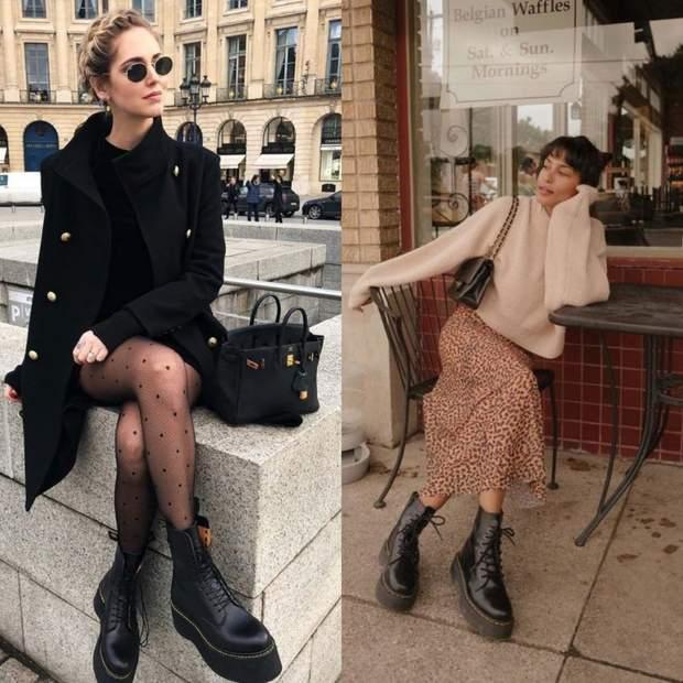 Масивне взуття - тренд осені