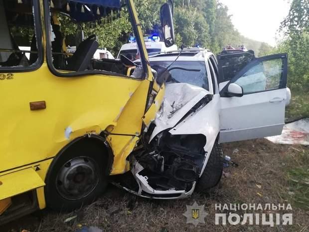 У ДТП на Черкащині постраждали 10 осіб