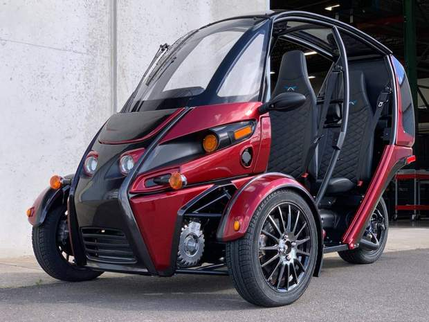 Arcimoto Fun Utility Vehicle