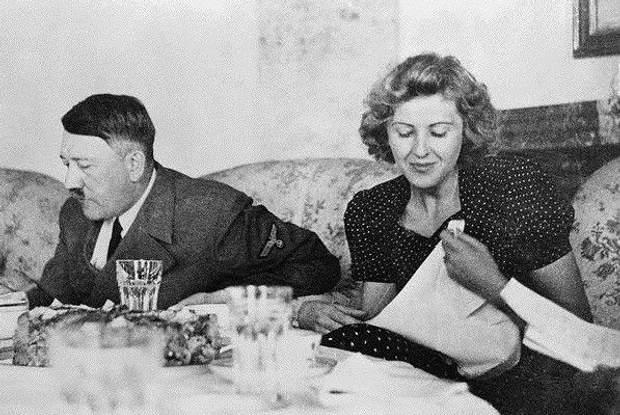 Єва Браун Адольф Гітлер