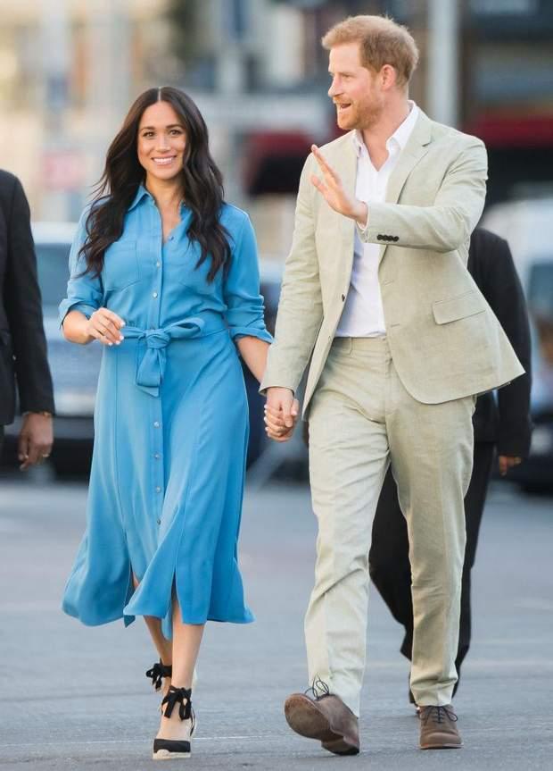 Принц Гаррі та Меган Маркл у Кейптауні