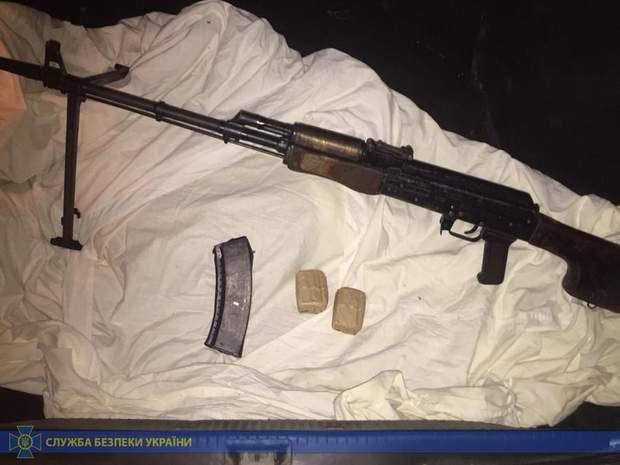 зброя кулемет боєприпаси СБУ ООС