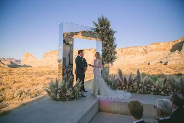 Церемонія весілля Тієсто
