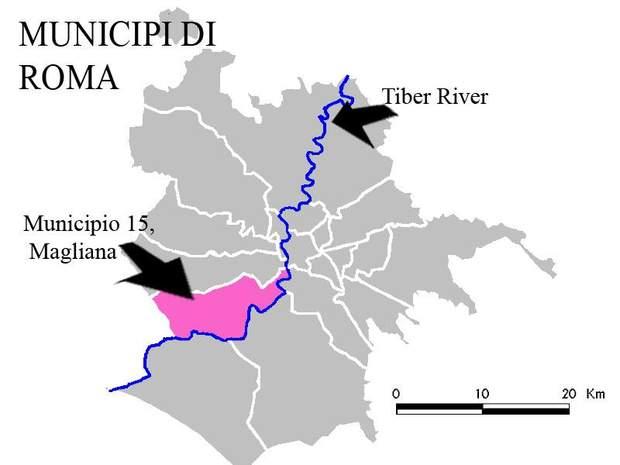 Район Маґліяна в Римі