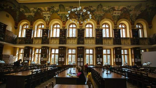 Нацкова бібліотека лну