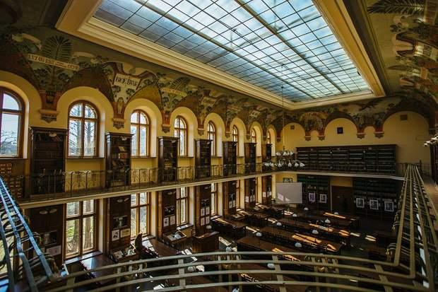 наукова бібліотека лну