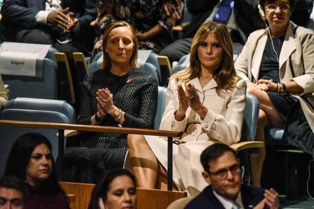 Меланія Трамп на Генасамблеї ООН