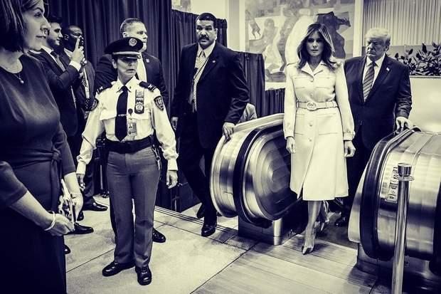 Дональд і Меланія Трамп у Нью-Йорку