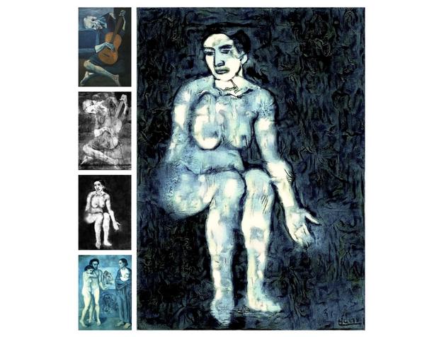 Штучний інтелект відновив картину Пікассо