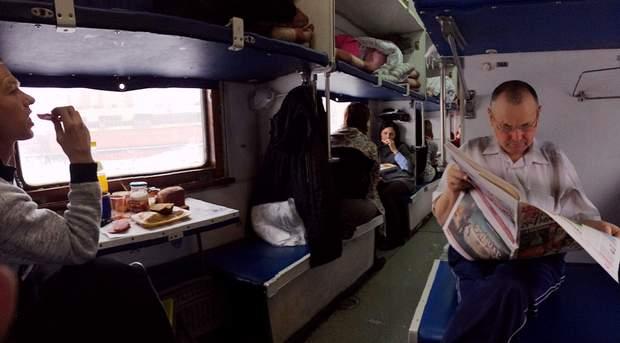 В потяг не варто брати молочні продукти