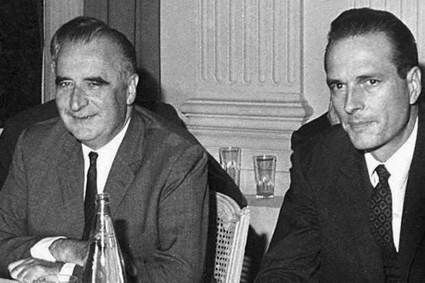 Жак Ширак і Жорж Помпіду