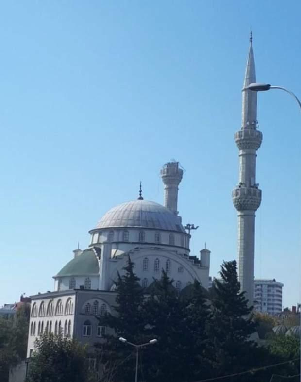 мінарет Стамбул землетрус