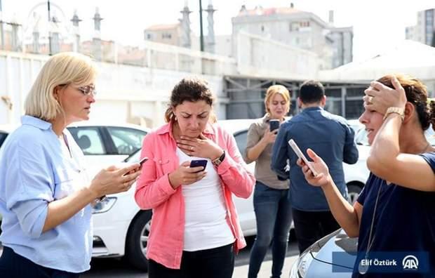 Землетрус Стамбул Туреччина