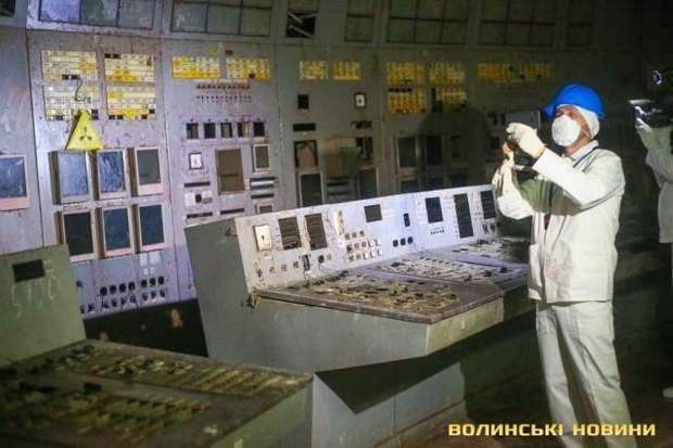ЧАЕС фото четвертий енергоблок Чорнобильська зона відчуження