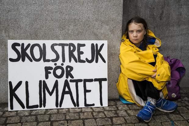 Грета Тунберг, Швеція, екологія, ООН