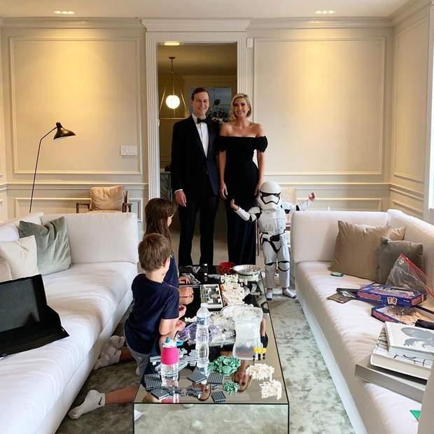 Іванка Трамп з чоловіком і дітьми