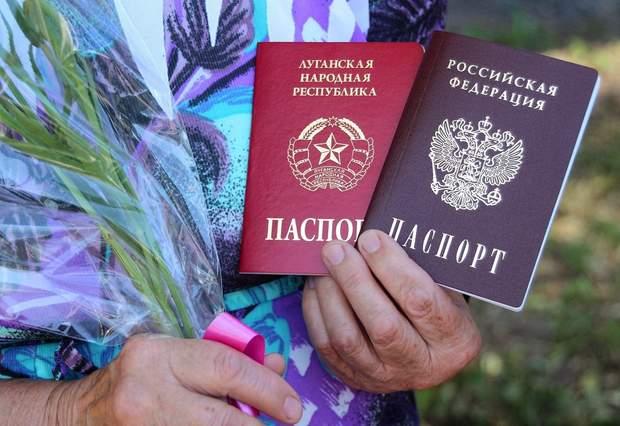 війна на донбасі паспорт