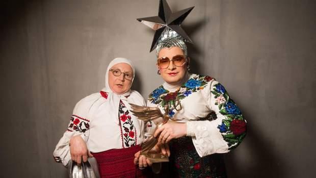 Вєрка Сердючка з мамою