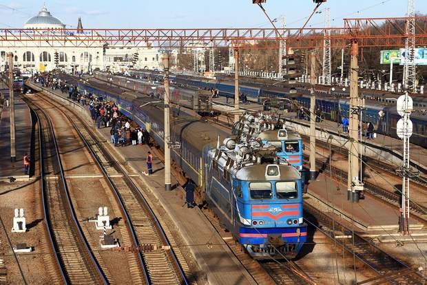 Деякі вагони Укрзалізниці лякають