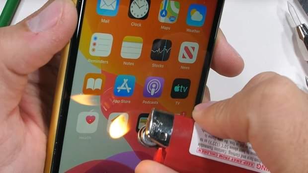 iPhone 11 протестували на міцність