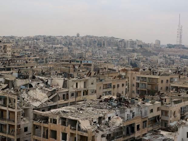 Алеппо в часи війни у Сирії