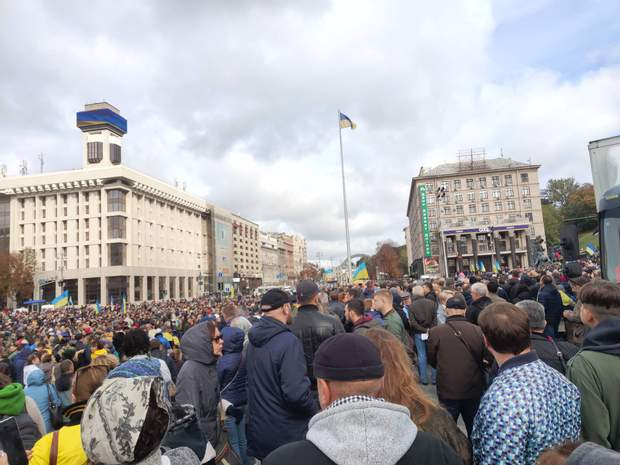 Київ мітинг віче проти капітуляції