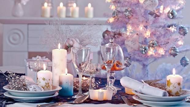 Сервіруйте стіл у білих тонах