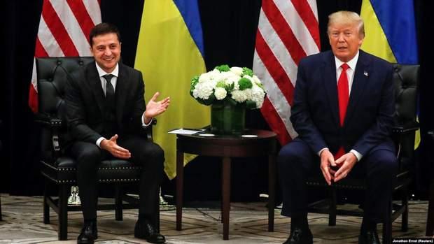 Володимир Зеленський та Дональд Трамп