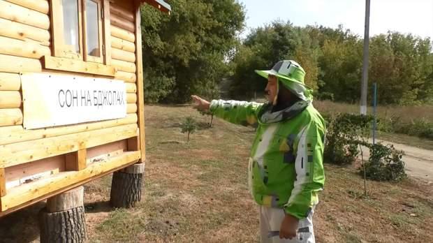 Андрій Столяревський вже декілька років займається бджільництвом