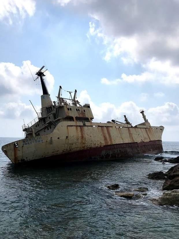 Корабель Edro 3 / Фото журналістки 24 каналу Марії Бондар