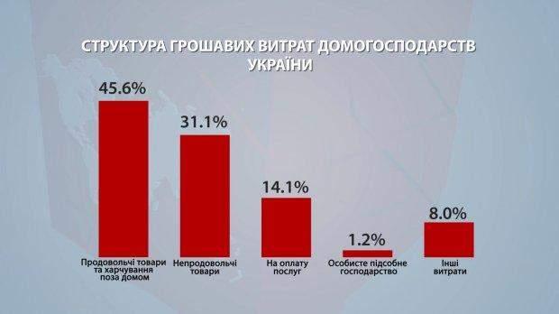 українці гроші статистика інфографіка