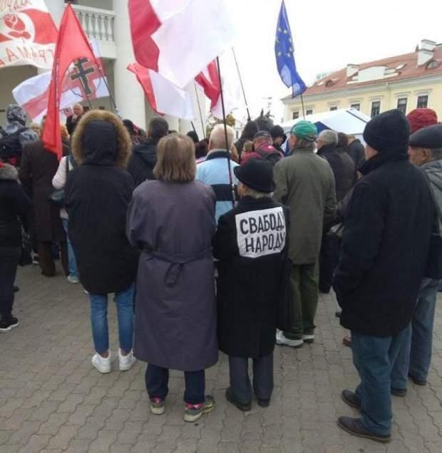 мітинг Білорусь