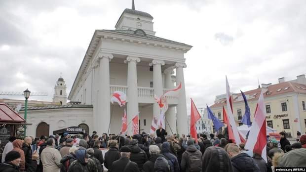 мітинг Мінськ