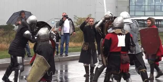 Лицарський турнір в Кривому Розі