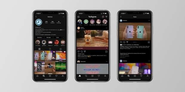 Як ввімкнути темну тему Instagram для iOS