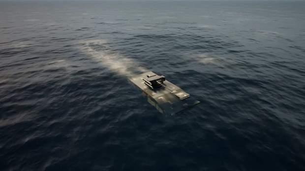 Візуалізація БТР на воді