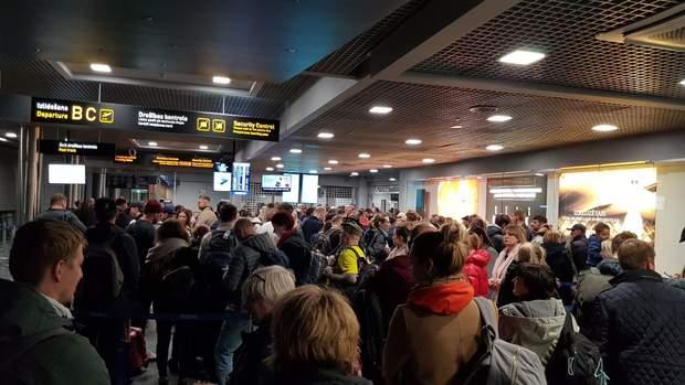 аеропорт рига черга