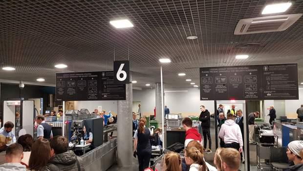 рига черга скандал аеропорт
