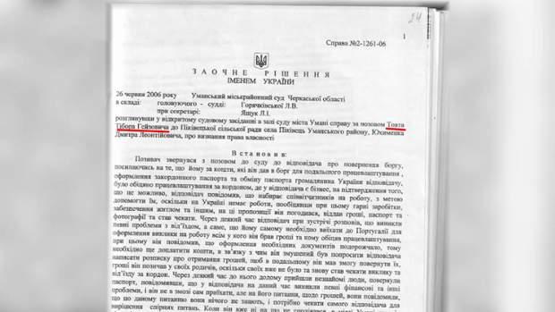 Рішення судді Горячківської