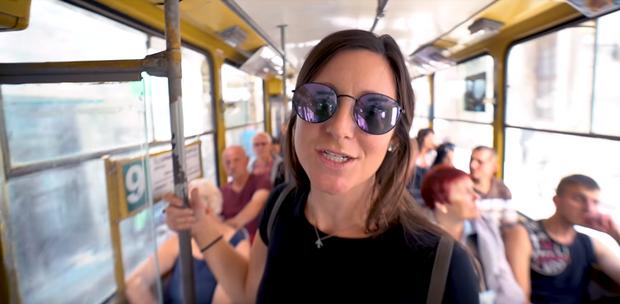 Блогери навіть проїхалися львівським тролейбусом