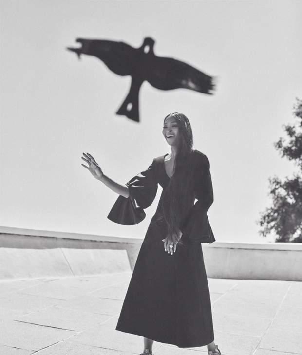 Нова фотосесія Наомі Кемпбелл