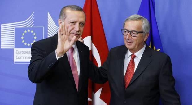 Юнкер і Ердоган