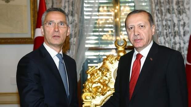 Столтенберг і Ердоган
