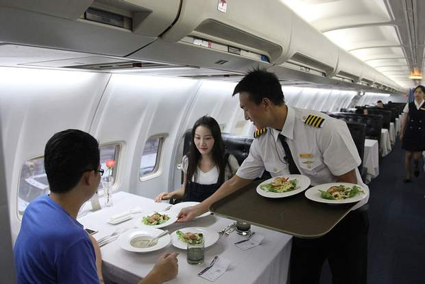 Ресторан має назву Lily Airways