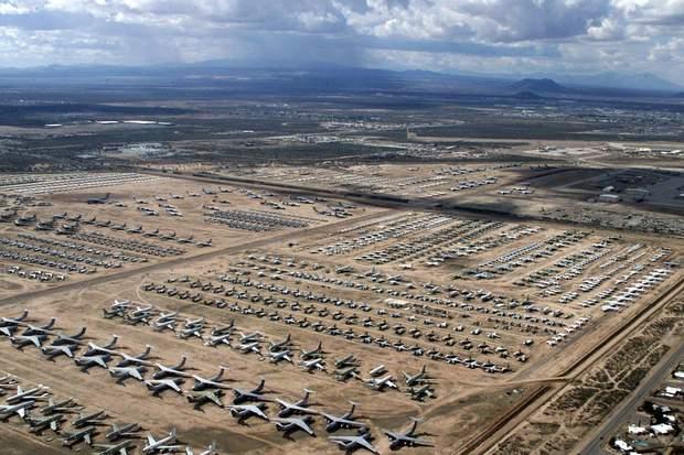 Кладовище літаків в Аризоні, США