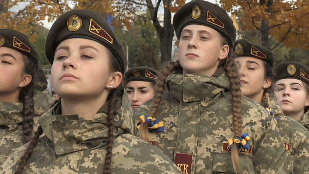 Юначок теж посвятили в кадетів