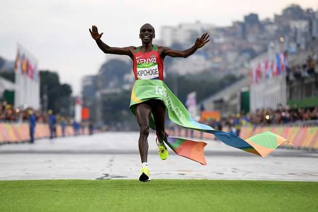 Еліуд Кіпчоге марафон Ріо