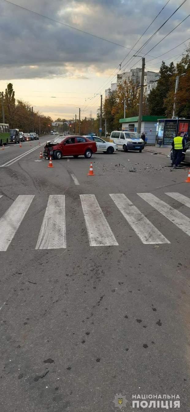 ДТП, Харків, дитина, аварія, Chevrolet Aveo, Volkswagen Polo