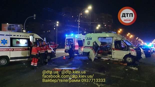 аварія швидкої в Києві